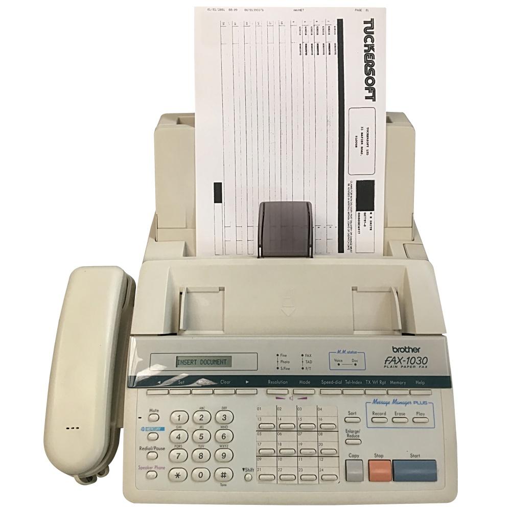 fax machine installation