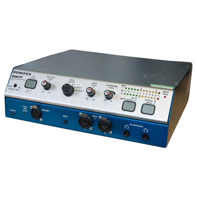prop hire sonifex daw p desktop audio interface