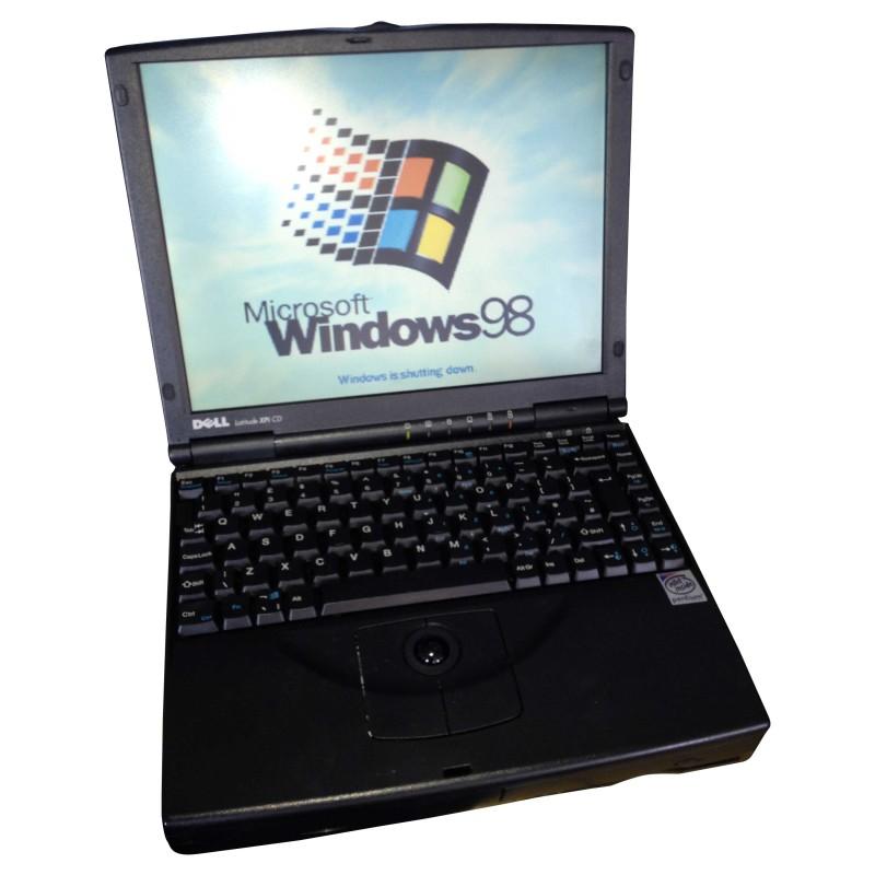 Prop Hire - Dell Latitude XPi CD Laptop