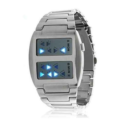 Red Binary LED Wrist - video dailymotion