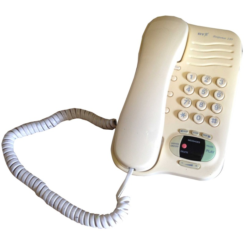 corded wall phone answering machine
