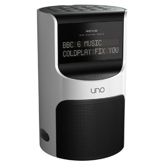 prop hire revo uno dab radio alarm clock. Black Bedroom Furniture Sets. Home Design Ideas