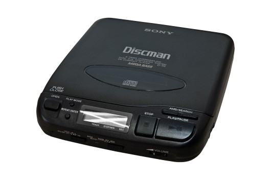 Prop Hire - Sony Discman CD Player