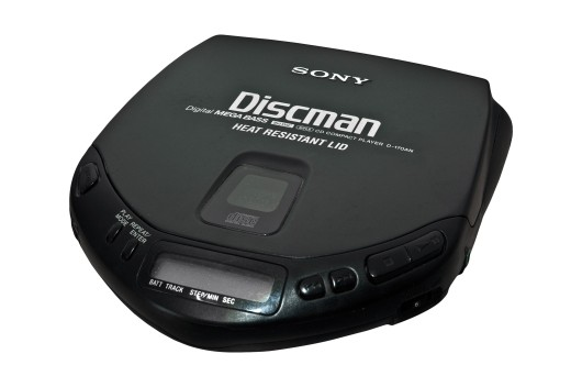 Prop Hire - Sony Discman D-170AN Personal CD Player