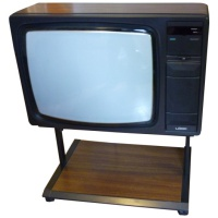 Logik 4098 Wooden Case Teletext CTV Hire