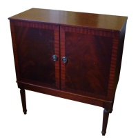 Dynatron Wooden Television with Doors Hire