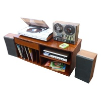 Bang & Olufsen Music Centre, Akai Reel to Reel and 8 Track player set-up Hire
