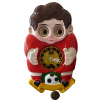 Football Boy Clock Hire