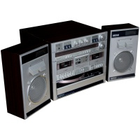 Panasonic Turntable, Radio and Speakers Hire