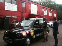 Punters delivered to Islington Boxing Club Hire