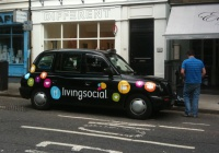Living Social Taxi at Minds Eye Hire