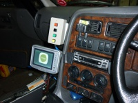 The driver control box and comfort monitor Hire