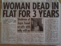 Woman found dead in flat ... Hire