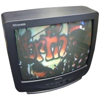 TV & Video Props Samsung SI-20S20BT Hitron Black TV