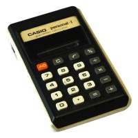 Casio Personal-I Electronic Calculator Hire
