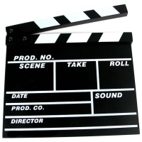 Video Cameras Clapper Board