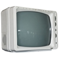 "TV & Video Props Steepletone BTV1201 12"" Portable Television"