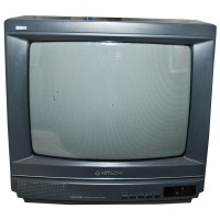 TV & Video Props Hitachi C1408T Television
