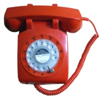 Steepletone STP1960 Telephone - Red Hire