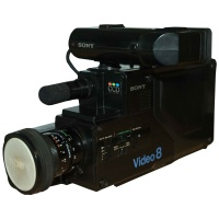 Sony Video 8 Video Camera Hire