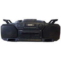 Philips AZ8304 Turbo Bass CD/Radio/Cassette Boombox Hire