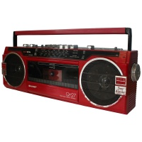 Sharp QT27 Stereo Radio Cassette Recorder Hire