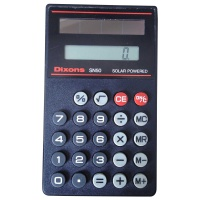 Dixons SN50 Solar Powered Calculator Hire