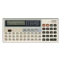 Casio PB-100 Pocket Calculator Hire