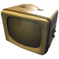 TV & Video Props McMichael MP17 1950's Television