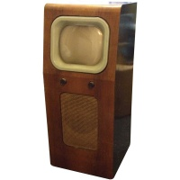 TV & Video Props Pye Wooden Case Television