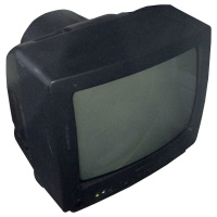 TV & Video Props Daewoo Colour Television
