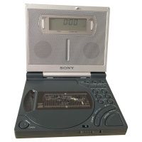 Sony CD2000S 3Band CD Clock & Radio Receiver Hire