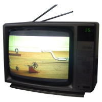 Co op Wooden Effect TV Hire
