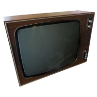 TV & Video Props ITT-KB Wooden Case TV