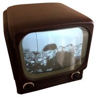Bush TV62 - Working 1950s Television Hire