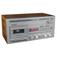 Binatone Clock Radio Cassette Recorder Hire