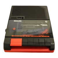 Philips Portable Cassette Recorder D6260 Hire