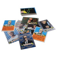 Max Headroom cards Hire