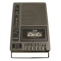 GBI Audio Cassette Data Recorder model 3269CX Hire
