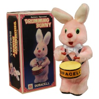 Duracell Drumming Bunny  Hire