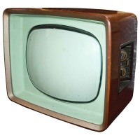 Philips Wooden Case 50's / 60's Television Hire