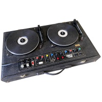 Disco Turntables, Speakers with Lights Hire