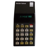 Sinclair Oxford Scientific Calculator Hire