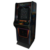 Retro Arcade Game Machine
