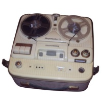 Telefunken Magnetophon 75 - Reel to Reel Tape Recorder Hire