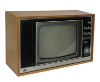 TV & Video Props Sony TV - Wood Case - KV-1320UB