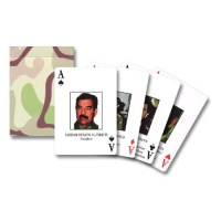 Iraqi Most Wanted Playing Cards Hire