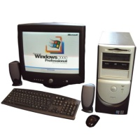 Year 2000 PC Computer - Dell 8100 Hire