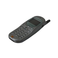 Mobile Phone Props Motorola Timeport 250e Mobile Phone
