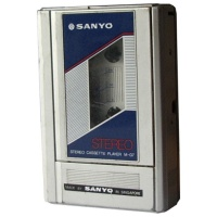 Sanyo M-G7 Cassette Player Hire